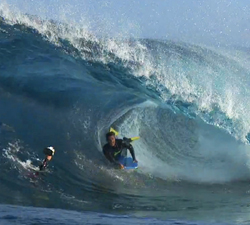 Bodyboarding canary islands