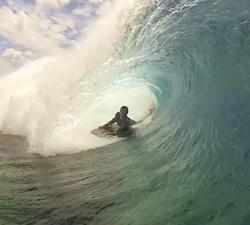 Cook Islands bodyboarding