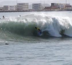 Kahului Harbor bodyboarding
