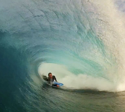 Richard Diaz bodyboarding