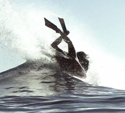 Jeff Levingston bodyboarding