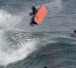 Jeremy Loefstok bodyboarding