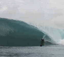 Panaitan islands bodyboarding