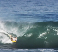 Reunion Island bodyboarding
