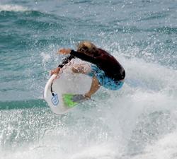 Shane Griffiths drop knee
