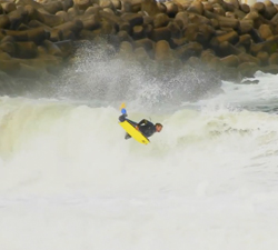 Duarte Barros bodyboarding