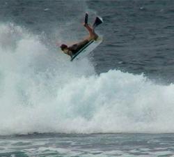 James Murdock bodyboarding