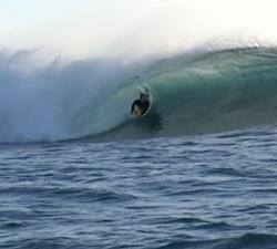 Jono Bruce bodyboarding