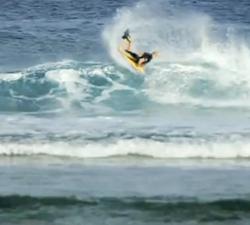 Nick Gornall bodyboarding