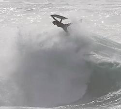 Wyatt Blair bodyboarding