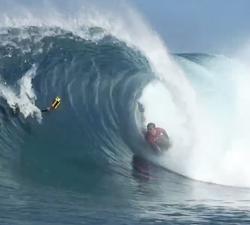 bodyboarding FRENCH POLYNESIA