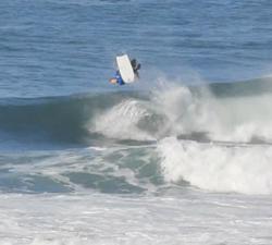 bodyboarding flip