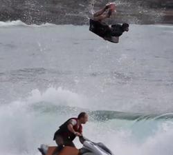 tow bodyboarding