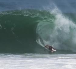 Derek Crater bodyboarding