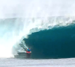 bodyboarding pipe