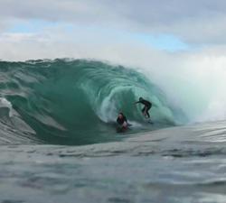 shark island bodyboarding
