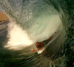 Sergio Luiz bodyboarding