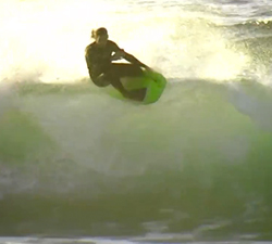 Simmo Romano bodyboarding