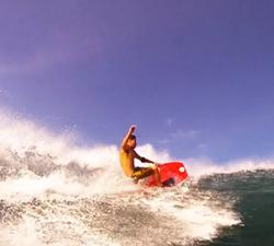 drop knee hawaii