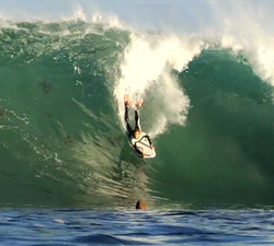 bodyboarding video