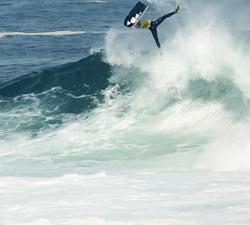 Israel Salas bodyboarding