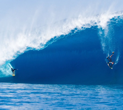 drop in tahiti
