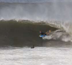 bodyboarding reef