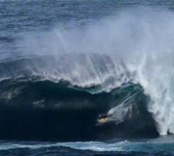 bodyboarding the right