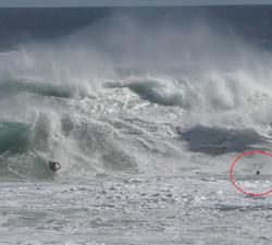Bodyboarder drowning