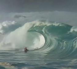 Bodyboarding Waimea