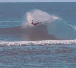 Rarotonga bodyboarding