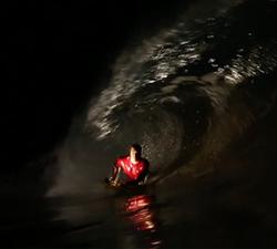 bodyboarding nightsurf