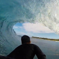 Reunion Island bodyboard