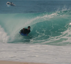 bodyboard barrel