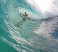 reef bodyboarding