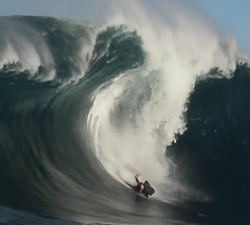 big wave bodyboard