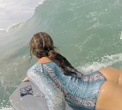 bodyboard girl