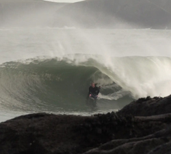 christmas bodyboarding