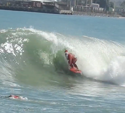 christmas bodyboard