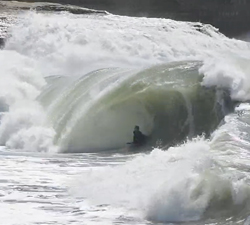 bodyboarding wedge