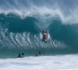 north shore bodyboarding