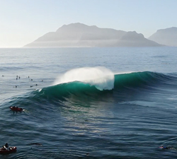 bodyboarding sunsets cape town