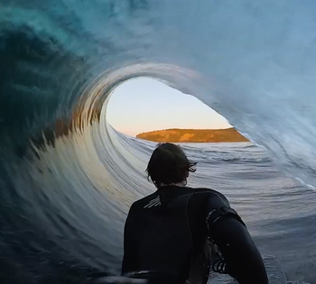 pov bodyboard barrels one